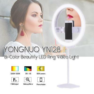 YONGNUO YN128II Photography Beautify Selfie LED Ring Video Light for iPhone R3X2