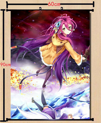 Collectibles Animation Art Characters Collectibles Anime No Game No Life Cosplay Home Decor Poster Wall Scroll 40cm 60cm Zsco Iq
