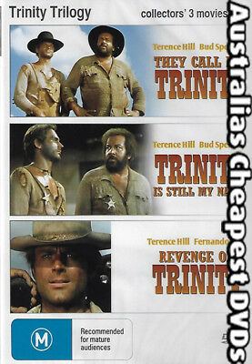 Trinity Trilogy Collector's 3  DVD NEW, FREE POSTAGE WITHIN AUSTRALIA REGION ALL