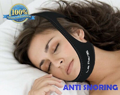 Stop Snoring Chin Strap, Anti-Snoring Sleep Aid, Snore Stopper, Sleep Better