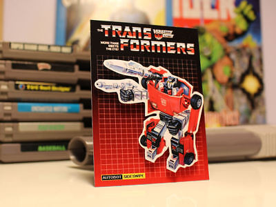 Retro Transformers G1 KUP Autobots 80/'s Magnet Toy Art Party Favors