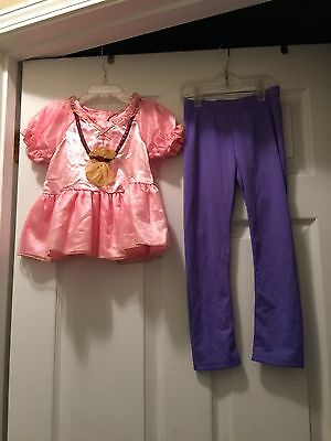Disney Store Jake And The Never Land Pirates Izzy Halloween Costume Girl 4T