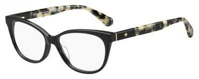 NEW Kate Spade KS Karlee Eyeglasses 0WR7 Black Havana 100% AUTHENTIC