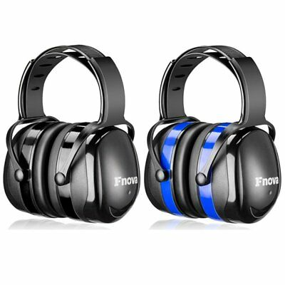Ear Defenders Fnova 34dB Highest NRR Safety 2018 Ear Muffs Hearing Protector New