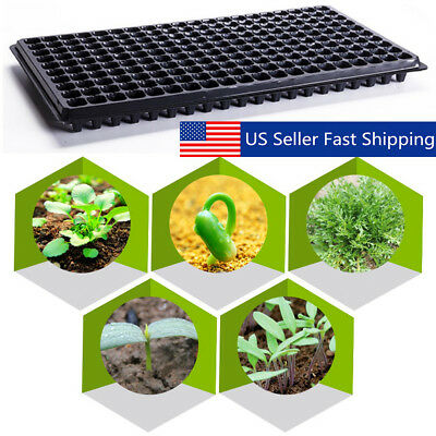 Extra Strength 200 Cell Seedling Starter Tray Seed Germination Plant Propagation