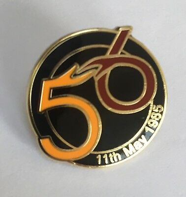 Limited Edition Bradford City 56 Memorial Badge (2nd Edition).