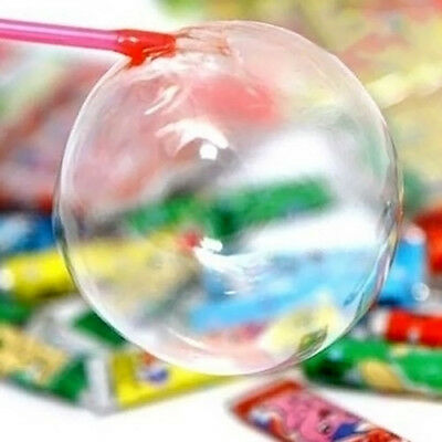 5× Baby Kids Bubble Gum Toy Blowing Glue Childhood Reminiscence Toys Fun  Random