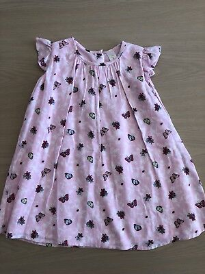 Dymples Girls Dress Sz 2 BNWOT Pink Fully Lined