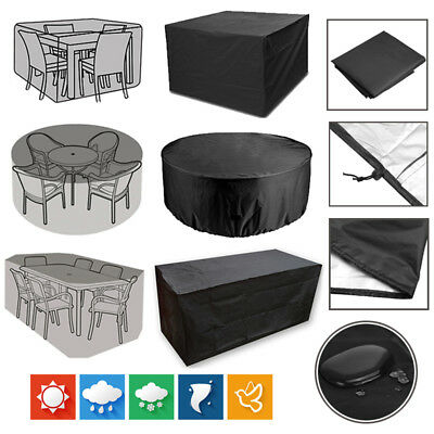 Waterproof Garden Patio Furniture Set Cover Covers For Rattan Table Cube Outdoor