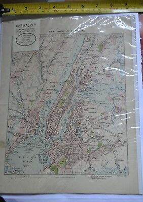 New York and Environs, 1910 ,By: Johnson & Co. Edinborough,  Cassel &  Co , Lond