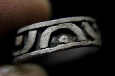Viking Valkyrie Silver  Ring with ornaments 1000 AD