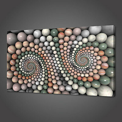 Abstract Colourful Zen Stones Canvas Picture Print Wall Art Home Spa Decor