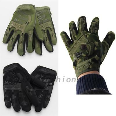 Top Military Tactical Work Gloves Technician Cycling Outdoor Non-slip Quality AU