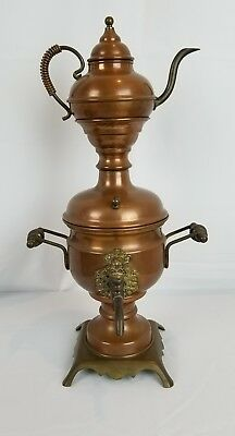 Beautiful Vintage Copper Samovar