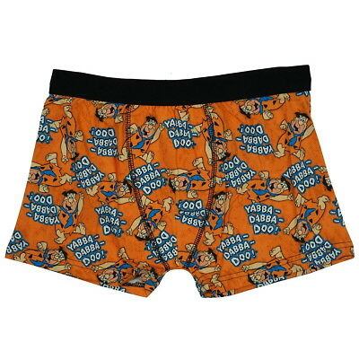 NEW OFFICIAL The Flintstones Fred Flintstone Retro Mens Boxer Shorts Boxers