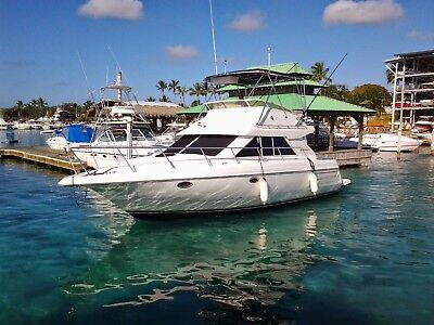 Cruisers Inc 3580 Flybridge 1996.  Twin Yanmar 6 cyl turbo diesel (2013)