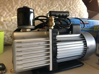 7 cfm Vacuum Pump Strong!! Works Perfect!! Lightly Used!