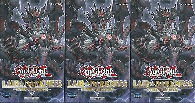 Lair Of Darkness Structure Deck X3 English Factory-Sealed 1St Ed, Get Yours 1St!