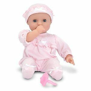Jenna Doll 12 Inch - Play Dolls by Melissa & Doug (4881)