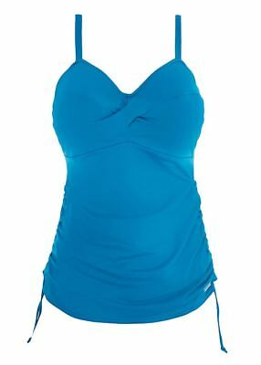 Fantasie Versailles FS5751 W Underwired Twist Tankini Top China Blue 34 D CS 95fc76063a