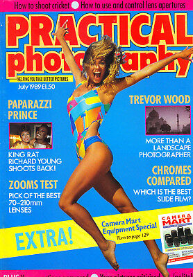 Practical  Photography Magazine with 70-210mm MF  zoom lenses tested   July 1989