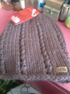 BNWT THE NORTH Face Chunky Knit Beanie Hat 31a5207278de