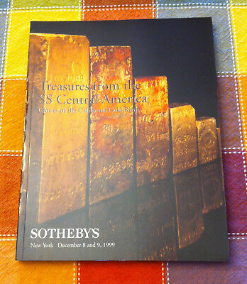 Treasures from the SS Central America - auction catalog, Sotheby's, 1999 - gold!