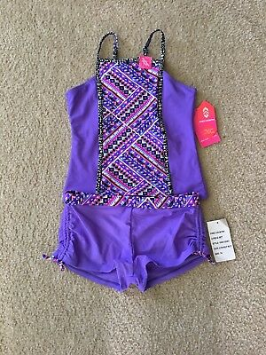 Girls Tankini Swimsuit Size 14 By Free Country