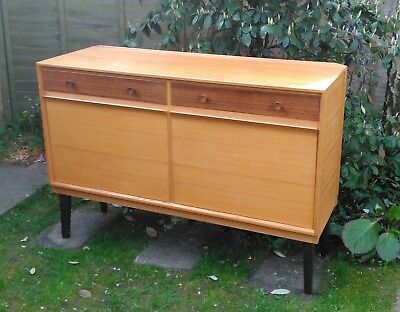 Gordon Russell Broadway two drawer sideboard in ash