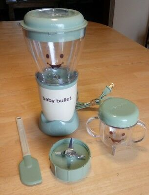 Magic Bullet Baby Bullet BB-101S Spatula Cup and Extra Grinder Base