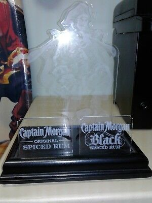 Captain Morgan Rum Bottle Holder with the Captains photo on it