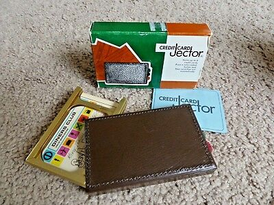 Vintage Credit Card Jector - Ejector Cascade Spring Wallet for up to 6 Cards