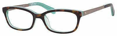 NEW Kate Spade KS JazmineUs Eyeglasses 0RSE Havana Green 100% AUTHENTIC