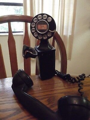 Western Electric 211 Space Saver With Bracket, F1 Handset & #5H Dial
