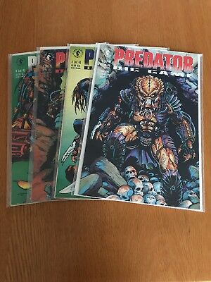 Predator: Big Game #1-4 Complete Dark Horse Comics