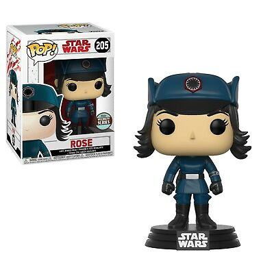 FunKo POP! Star Wars The Last Jedi Rose (Disguise) Specialty Series Figure