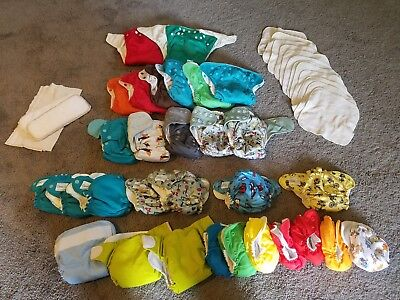 Boys full set of 30 Cloth Diapers (Newborn-Underwear)
