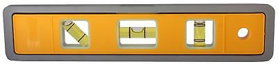 """New Johnson Alum. Magnetic Torpedo Level 9""""-5500M-GLO- Made in USA Free Shipping"""