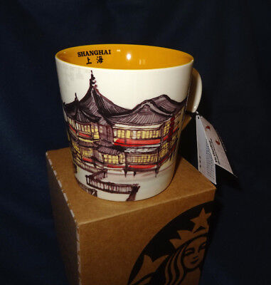 Starbucks Sammler Tasse Yu Garden Shanghai China City Mug