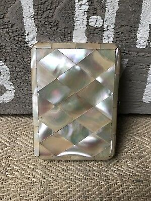 A Pretty Victorian Mother of Pearl Card case