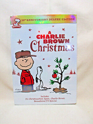 A Charlie Brown Christmas (DVD, 2014, 2-Disc Set, 50th Annivesary) New, Sealed