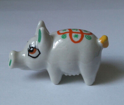 WADE Animal IRISH COMICAL PIG Shamrock Pottery 1956-1961