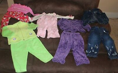 Baby Girl Outfits Clothes Size 18 Months All Seasons Clothes Lot