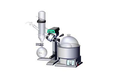 VapStar 0.5G/2L Rotary Evaporator (Manual Lift and Digital Control)