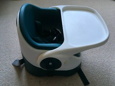 MAMAS AND PAPAS Baby Booster Seat in Green / Teal **VGC**