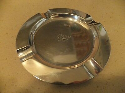 ANTIQUE/VINTAGE MELBOURNE  WILLIAM DRUMMOND AND Co STERLING SILVER ASHTRAY
