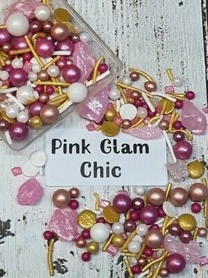 Purple Daze Silver Black Deluxe Sprinkles Cake Decoration Cupcakes Jumbo Mix