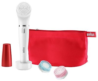 Braun Face Spa Electric Facial Cleansing Brush and Epilator
