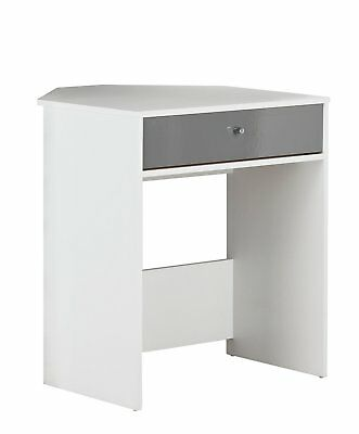 HOME Gloss Front Compact Corner Desk - White. From Argos