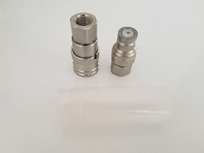 "3/8"" Quickfit Hydraulic Hose Fitting"